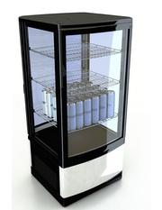 VisiCooler - 86 liter - black