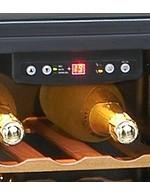 GCBE1-20 - Weinkühlschrank - Holz & Electronik - Temp.Einstellung