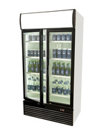 GCDC800 - Showcase Cooler with hinged door