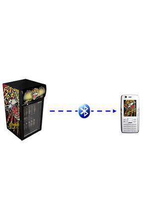 Bluetooth WerbeKühlschrank