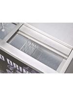 GCGT250ED - Wine-Freezer - stainless steel - open