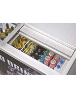GCGT250ED - Wine-Freezer - stainless steel - filled