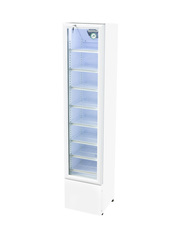 GCGD110 - Slim Glass Door Cooler - 105 Liters - white