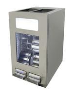GCAP100-250 - Dosen Dispenser Kühlschrank – 96 Dosen – Edelstahl