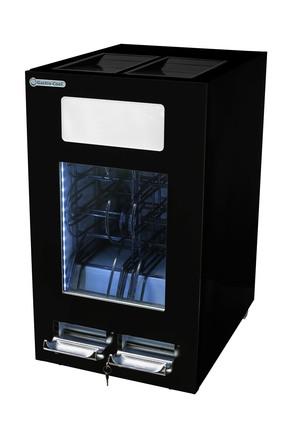 GCAP100-250 - Dosen Dispenser Kühlschrank – 96 Dosen – schwarz