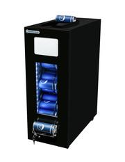 GCAP50 - Dosen Dispenser Kühlschrank in schwarz