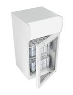 GCDC50 - Refrigerador com propaganda para balcão - branco