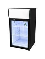 GCDC50 - Refrigerador com propaganda para balcão - preto