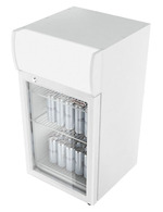 GCDC80 - Countertop Displaycooler - white