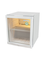 GCKW50 - KühlWürfel - Glass door fridge - 46 liters - silver