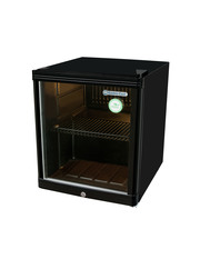 GCKW50 - KühlWürfel - Glass door fridge - 46 liters - black