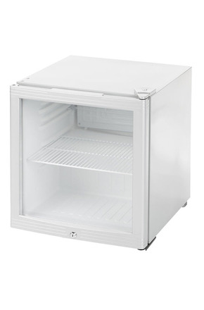 gckw50 khlwrfel glass door fridge 46 liters white