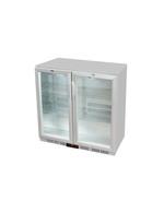GCUC200HD - Kühltheke / Untertheken-Kühlschrank - Flügeltür - Silber