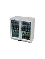 GCUC200HD - Balcão de refrigeração / Refrigerador por baixo do balcão - porta articulada - prateado