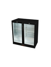 GCUC200HD - Undercounter-Cooler - double door - black