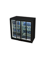 GCUC200SD - Undercounter-Cooler - Sliding Door - Black