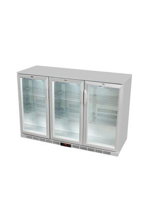 GCUC300HD - Untertheken-Kühlschrank/ BierKühlschrank - Silber