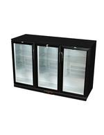 GCUC300HD - Refrigerador por baixo do balcão / Cervejeira - preto