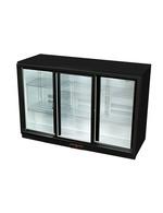 GCUC300SD - Refrigerador de balcão / refrigerador de bebidas - porta deslizante