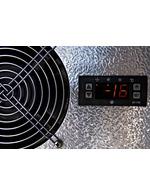 GCUF100 - Freezer por baixo do balcão / Freezer integrado por baixo - termóstato