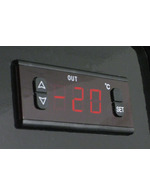 GCSD3 - Spirituosen- / Schnaps-Dispenser - schwarz - Thermostat