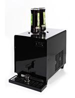 GCLD3 - Liquor-Dispenser - black- 1,8 liters - with bottles