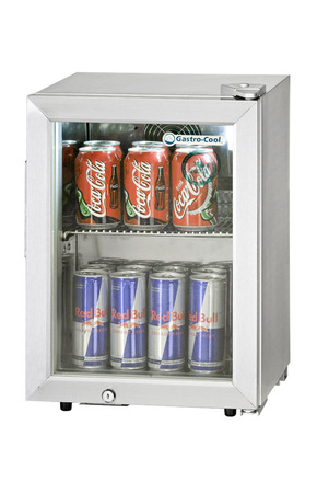MiniFridge - stainless-steel - 17 liters - GCKW20 – Gastro-Cool | {Minikühlschränke 60}