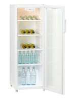 GCGD280 - Glass door refrigerator - open