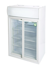 GCDC85 - Double Door Displaycooler - Sliding Door