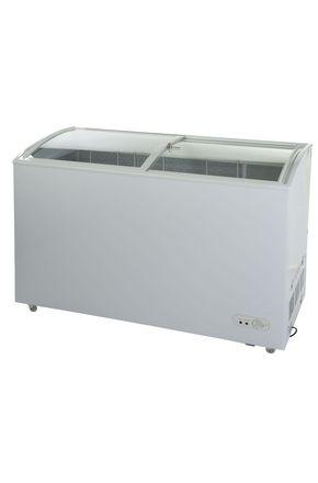 GCGT320 - WerbeTiefkühltruhe mit Glasdeckel