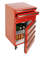 GCCT50-3 - Cool-Tool with 3 drawers open / Tool Trolley-Cooler