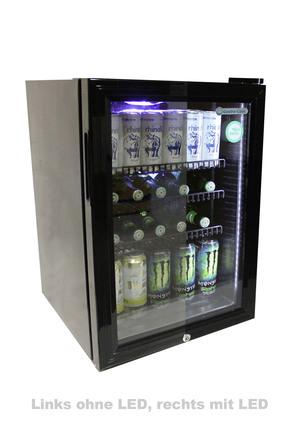 Kuhlwurfel L Bottle Cooler With Led Gckw65 Gastro Cool