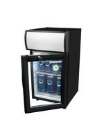 Thekenkühlschrank schwarz mit Display