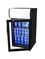 Kühlschrank für die Theke in schwarz