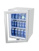 Kühlschrank für Flaschen in silber