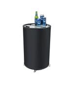 Kühlschrank in Tonnenform