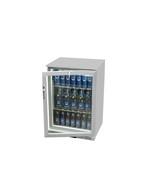 GCUC100 - Detailbild Griff Untertheken-Kühlschrank in silber