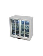Kühlschrank für Untertheke mit Schiebeglastür