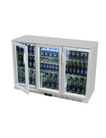 Bierkühlschrank / Bierfasskühlschrank in silber