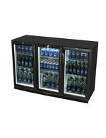 Kühlschrank für Bierflaschen in schwarz