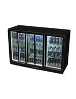 Getränkekühlschrank für Thekenbereich in schwarz
