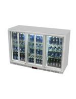 Silberner Unterthekenkühlschrank