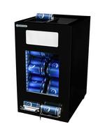 Kühlschrank für Getränkedosen in schwaru