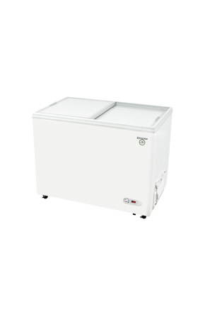GCFC300 - steckerfertige Kühltruhe mit Isolierschiebedeckel