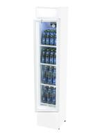 Kühlschrank schmal mit Leuchthaube