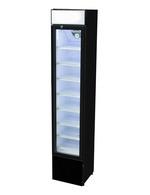 GCDC110 - Werbekühlschrank mit Display schwarz und abschließbar