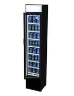 GCDC110 - Werbedisplaykühlschrank – außen schwarz, innen
