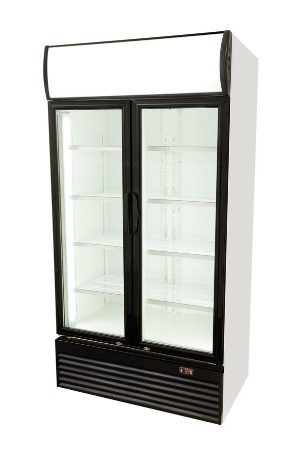 Showcase Cooler Sliding Doors 800 Litres Gcdc800sd Gastro Cool