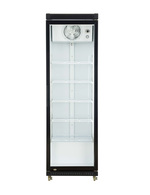 glass door fridge for commercial use
