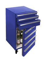 Kühlschrank im Design eines WerkstatTWAGENS